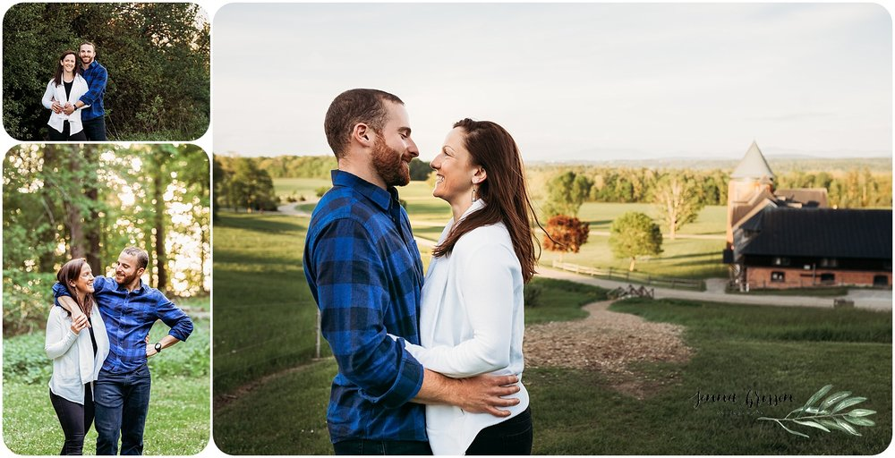 Shelburne Farms Engagement - Jenna Brisson Photography