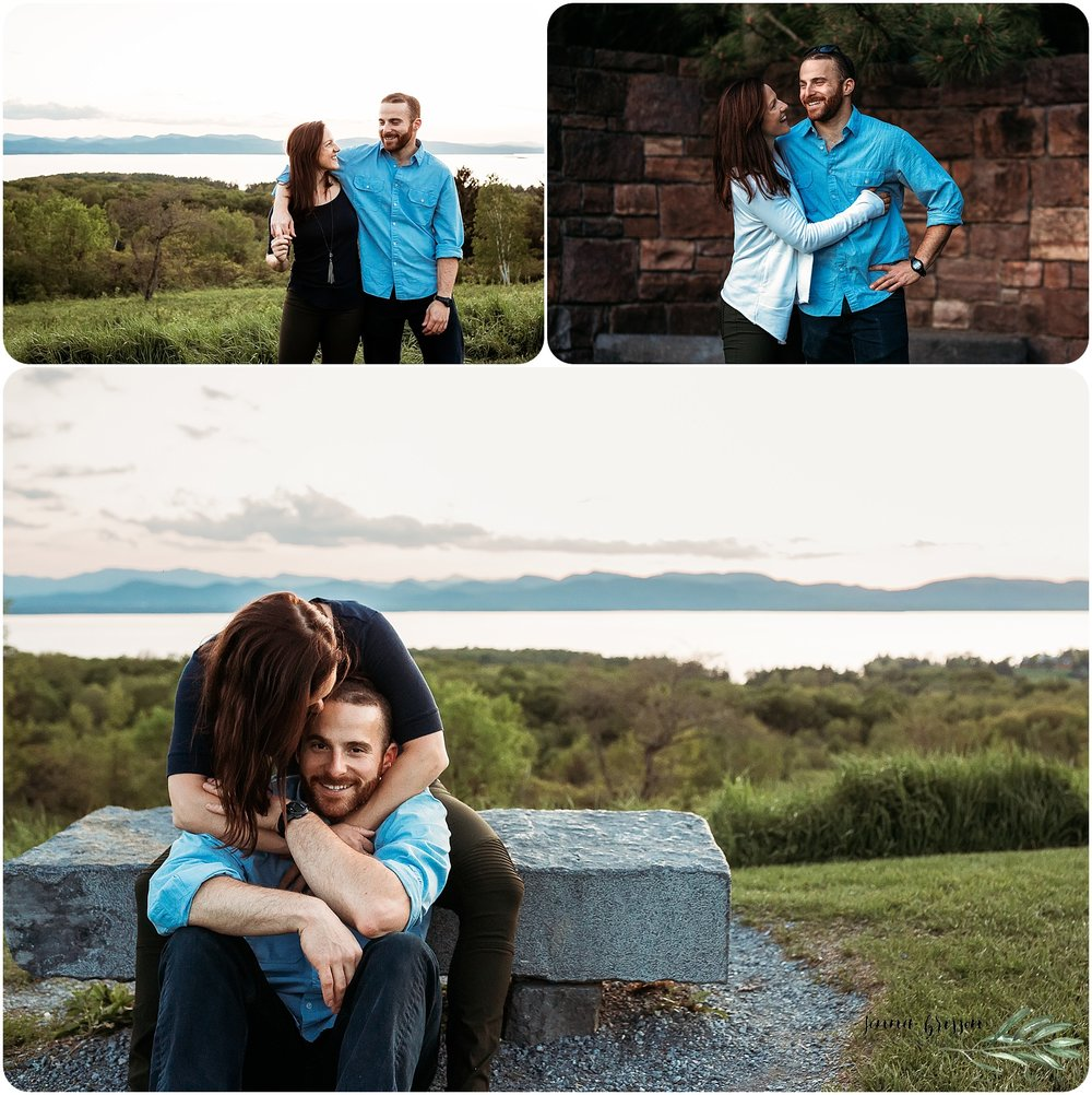 Shelburne Farms Engagement 2 - Jenna Brisson Photography