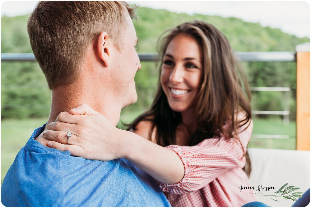 Vermont In Home Engagement Session 6 - Jenna Brisson Photography