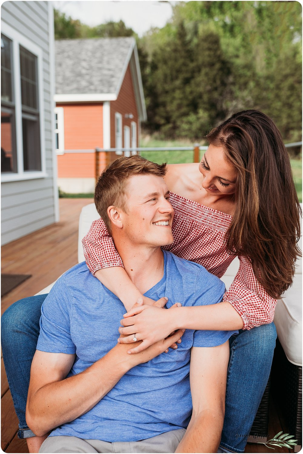 Vermont In Home Engagement Session 8 - Jenna Brisson Photography