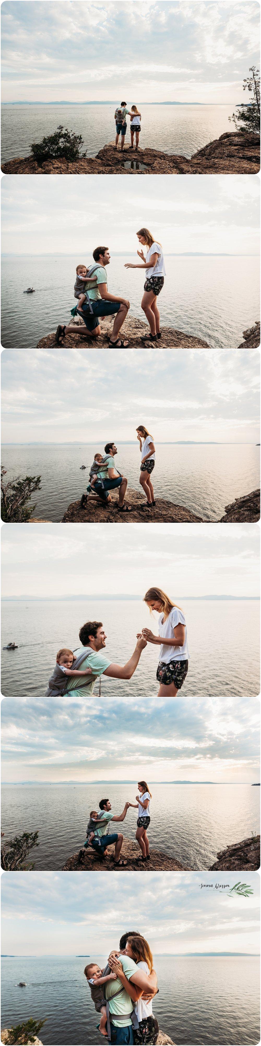 Vermont Proposal Photographer Jenna Brisson