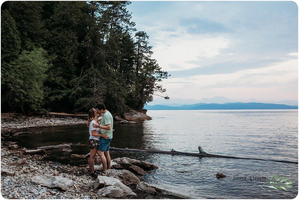 Burlington Vermont Proposal Photography - Jenna Brisson