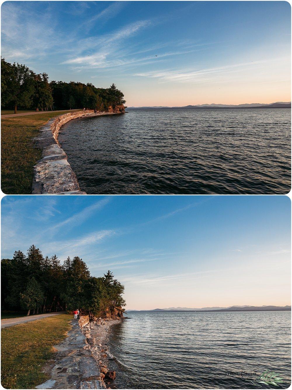 Vermont Engagement Photography - Jenna Brisson - Shelburne Vermont