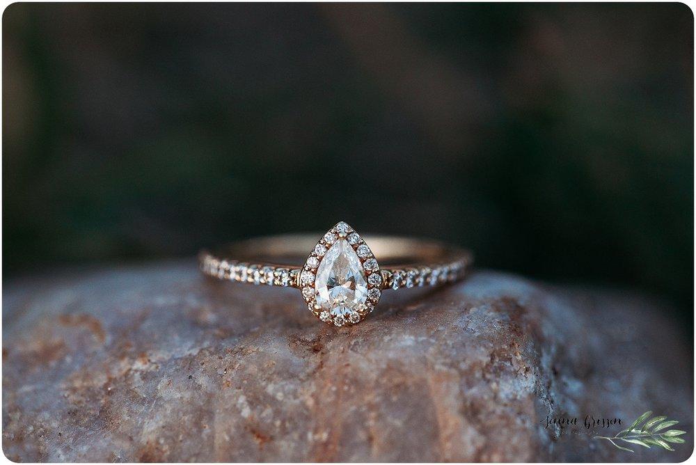 Engagement Ring Vermont - Jenna Brisson Photography