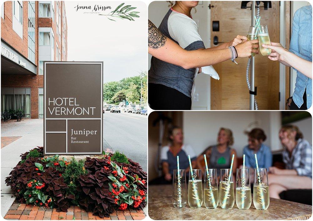Hotel Vermont Wedding - Burlington Vermont