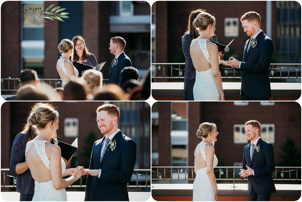 Hotel Vermont Wedding Ceremony - 7