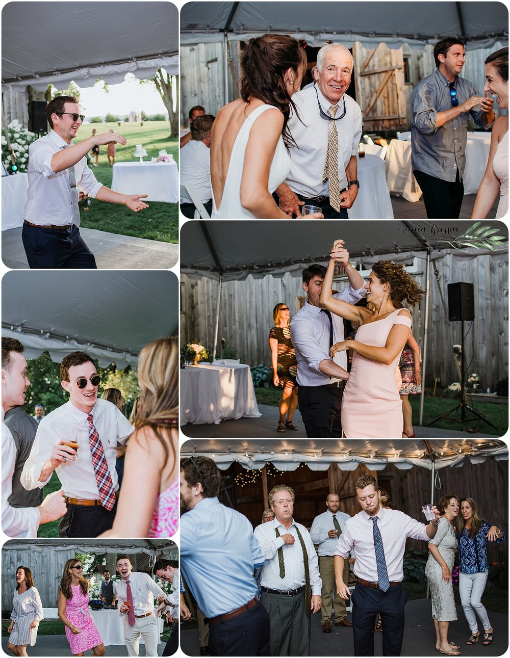 Vermont Wedding Photography Reception