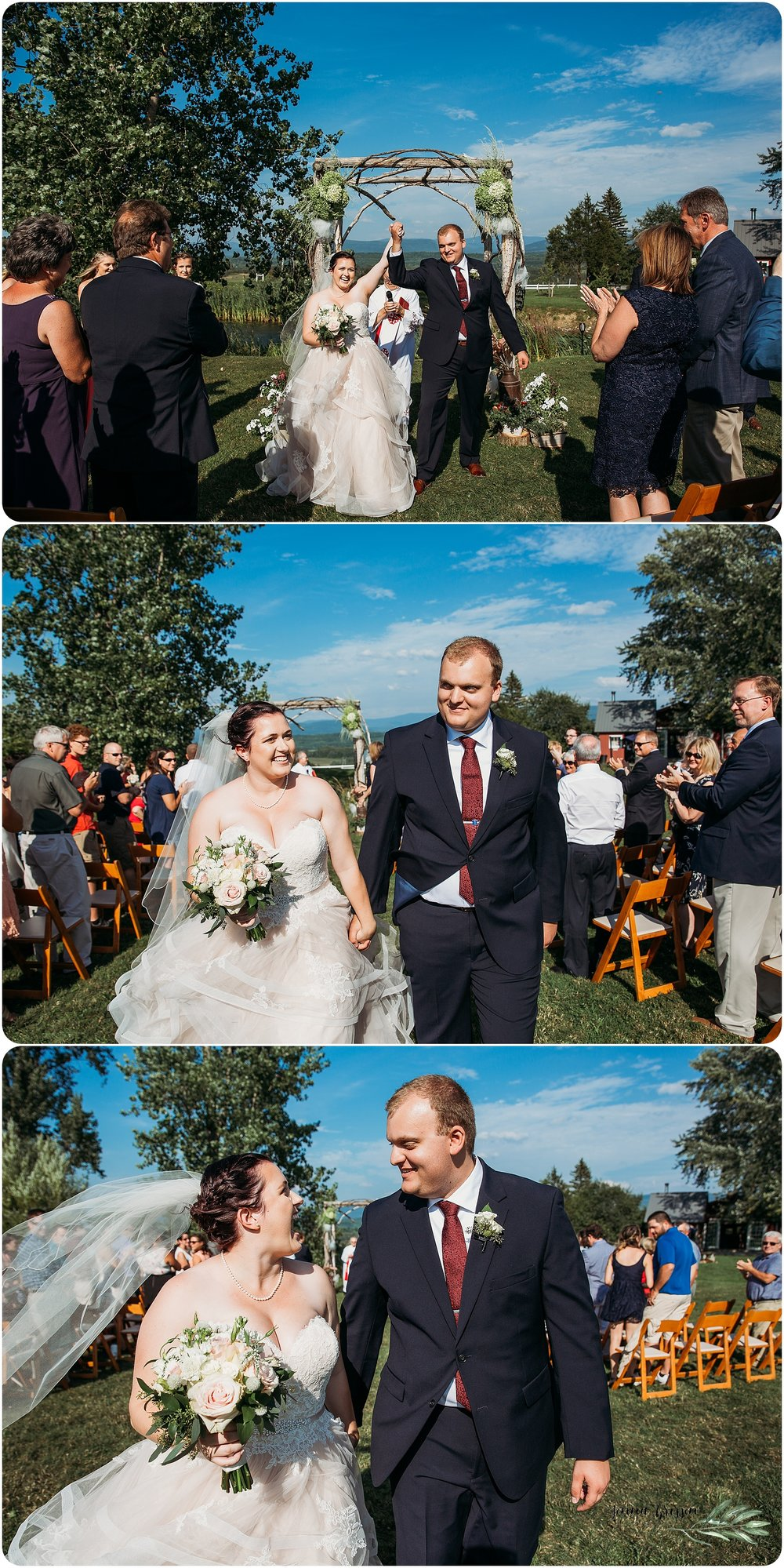 Candid Wedding Photography Vermont