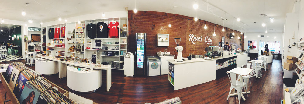 RIVER CITY COFFEE + GOODS