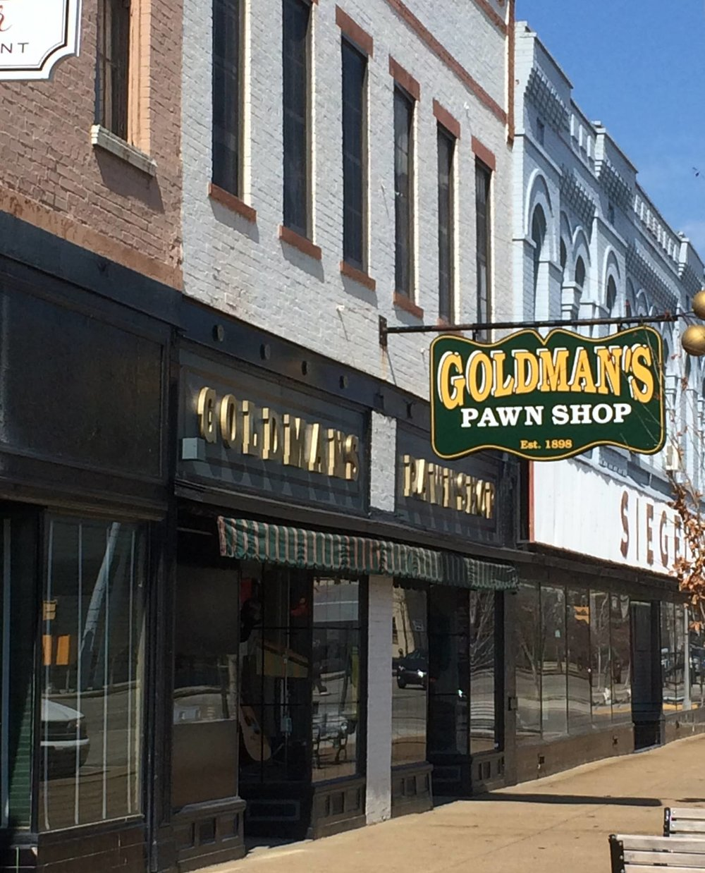 GOLDMAN'S PAWN SHOP