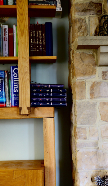 Farmhouse Alcove Bookcase