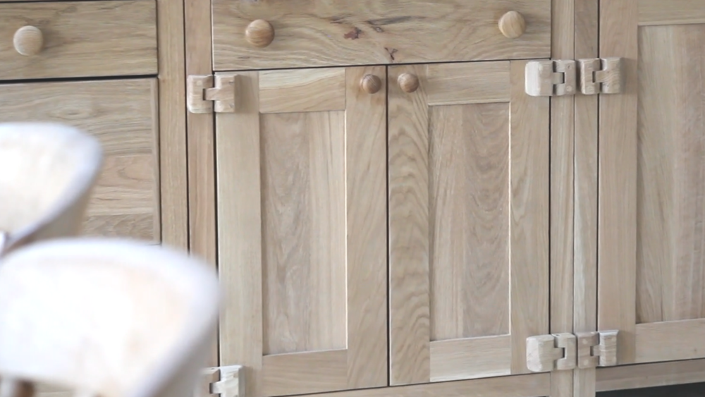 Bespoke Rustic Oak Kitchen Custom Off The Shelf