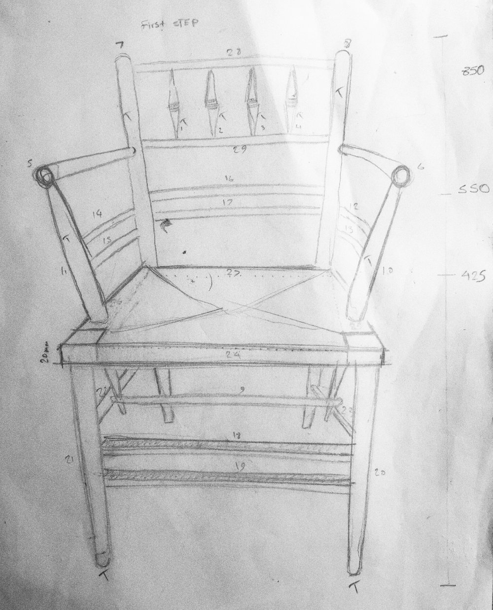 The Design of the Sussex Chair