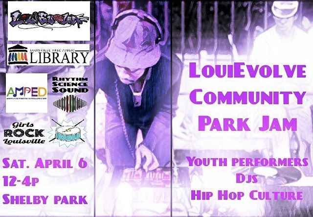 We're at Shelby Park right now starting off with our youth. It's a beautiful day. Come out.  #louievolve #19tilinfinity