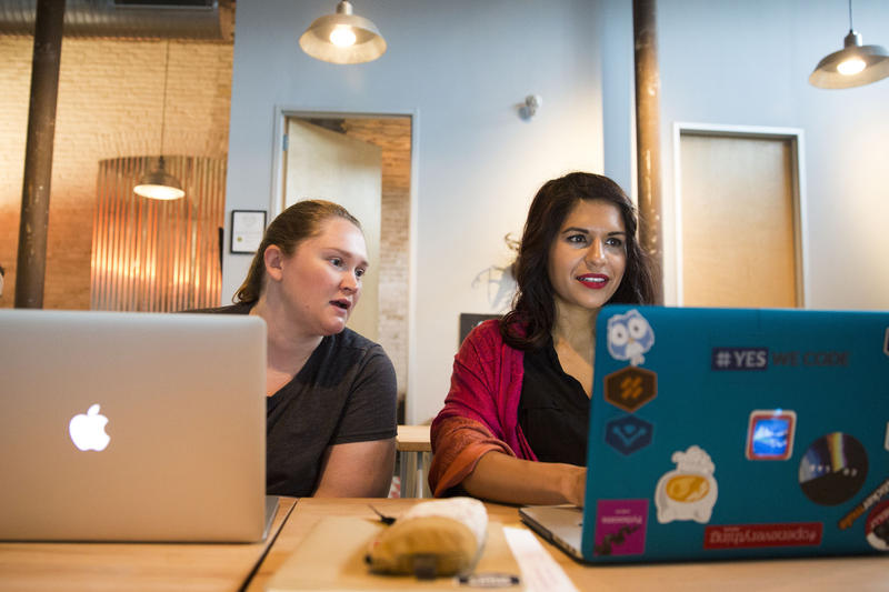 Coding Boot Camps Aim To Help Solve Diversity Problem In Tech Sector