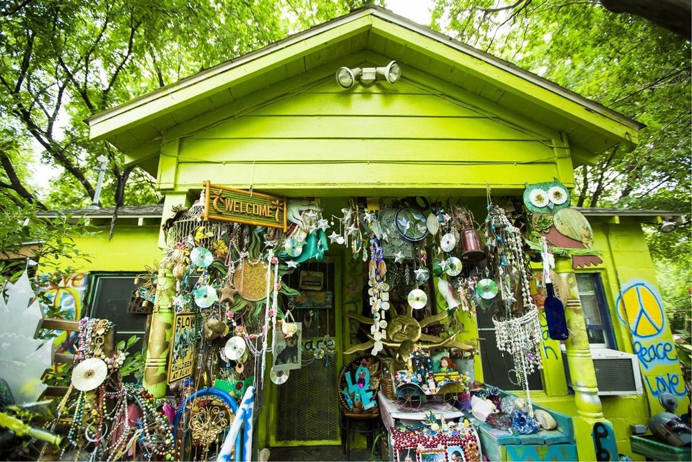 Inside the Homes of the Artists Keeping Austin Weird