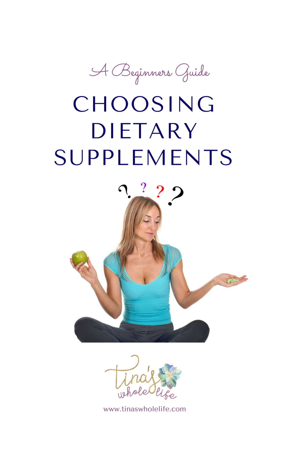 A Beginners Guide - Choosing Dietary Supplements cover.png