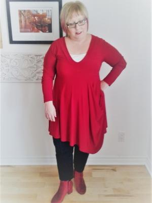 J'adore le rouge!