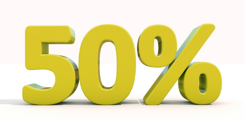 50% off Alevere Therapy Weekly Treatment