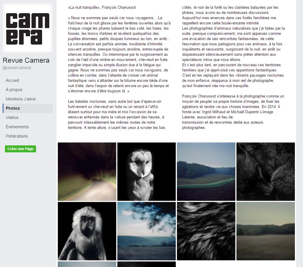 La nuit tranquille - Portfolio Revue Camera