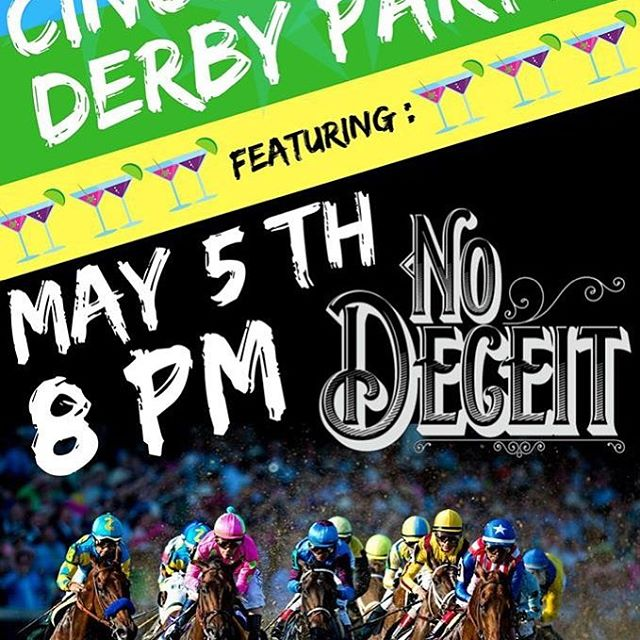 It is Derby Day!  The races are on all day. There are new drinks to try and good food to eat!  We are giving away prizes including 4 tickets to @thetimmcgraw and Faith Hill! South49 starts after the Derby with @nodeceitband around 8pm. $5 cover tonight . . #kentuckyderby  #mintjulep  #livemusic  #campbellville  #campbellsvilleuniversity