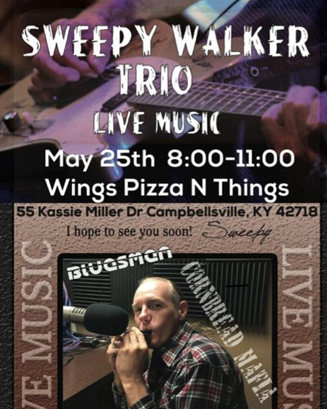 Sweepy is back!  Come out and enjoy some real country and classic rock entertainment.