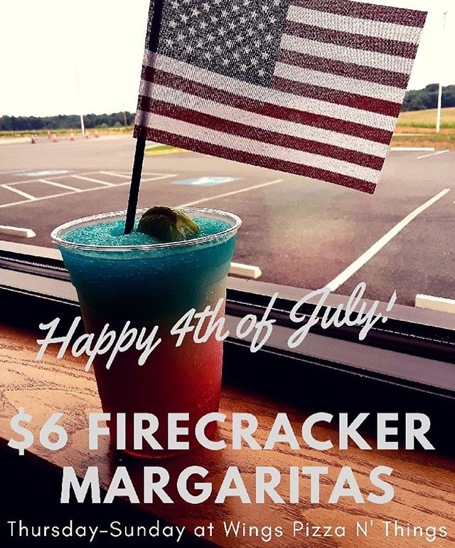 We are celebrating Independence Day with a great drink special.... Our Firecracker Margarita!! Come see us at WPNT . . #4thofjuly  #drinkspecials  #campbellsville