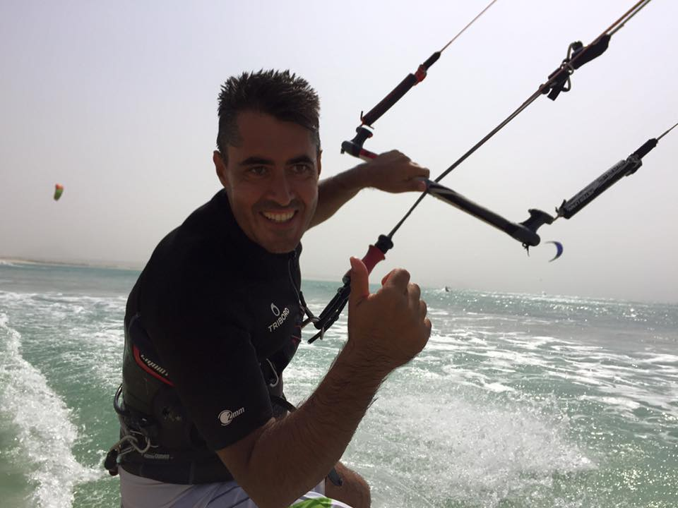 Fabio Lalle and his Wife Patricia Not only a participant of last years downwind, he also runs a beautiful restaurant on Boavista, make sure to stop by! His support surely had a impact on our sucess and we cant wait to see him in action soon!