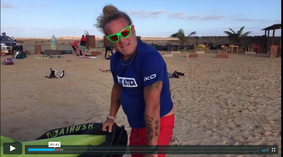GLOBE KITER   They surely made a entertaining clip from the KiteDownwind 2017 !