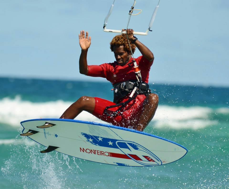 MITU MONTEIRO - RIDING WITH A SURFBOARD