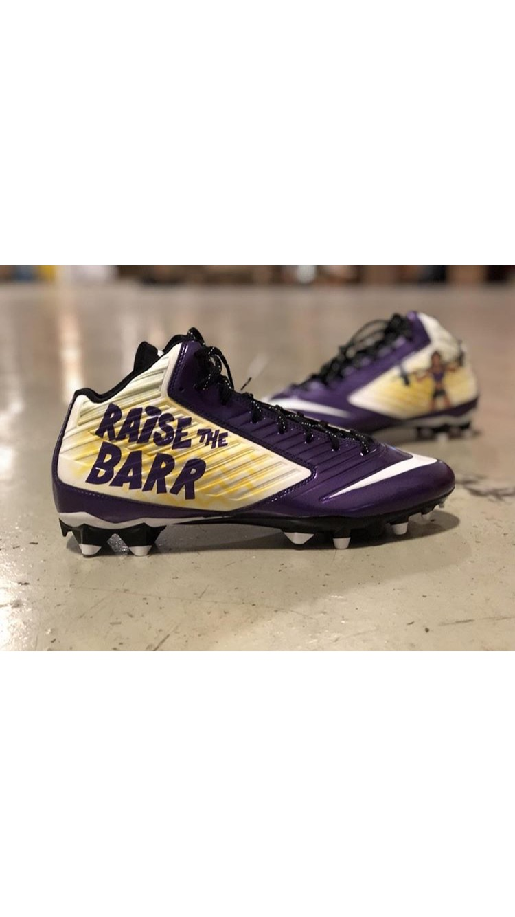My Cleats-My-Cause Game Worn