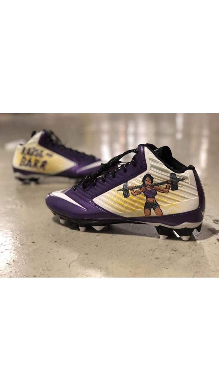 My-Cleats-My-Cause Game Worn