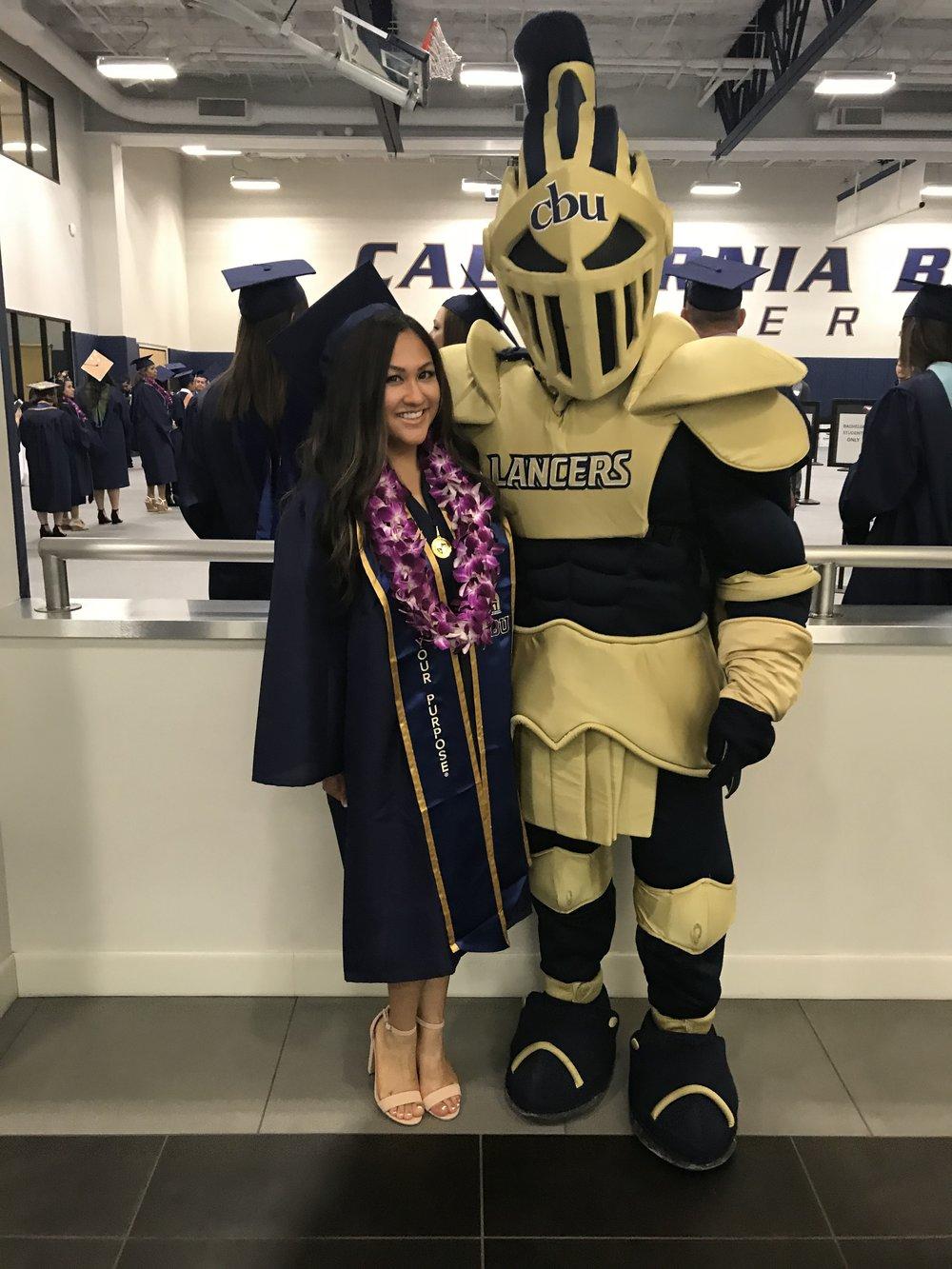 Janine Radoc, Cal Baptist University
