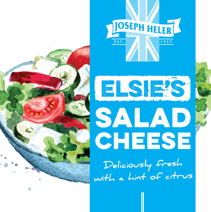 Elsie's Salad Cheese 200g. Available in our online shop.