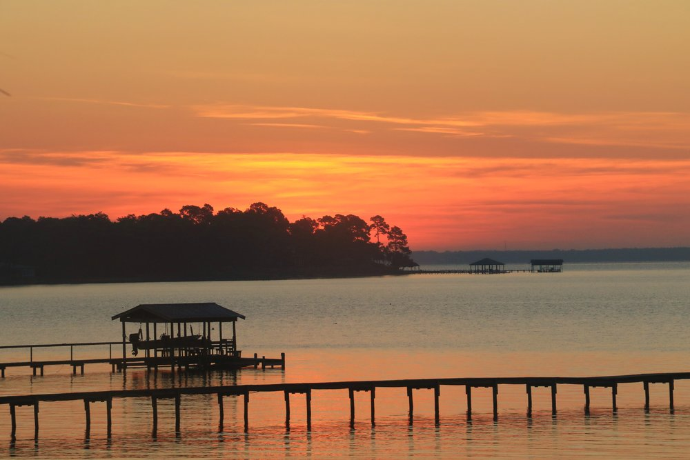 Sunrise at Perdido Bay