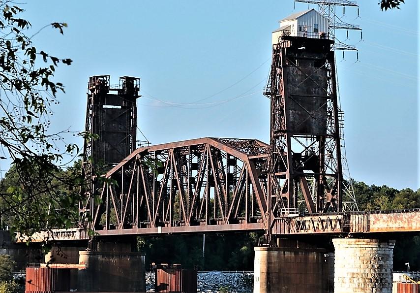Railroad Bridge at Chickamauga Dam, over Tennessee River