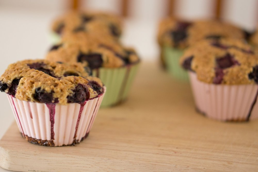 Muffins - Satiety from: protein + fiber + fatVariations: banana walnut + blueberry + egg/meat/cheese + endless