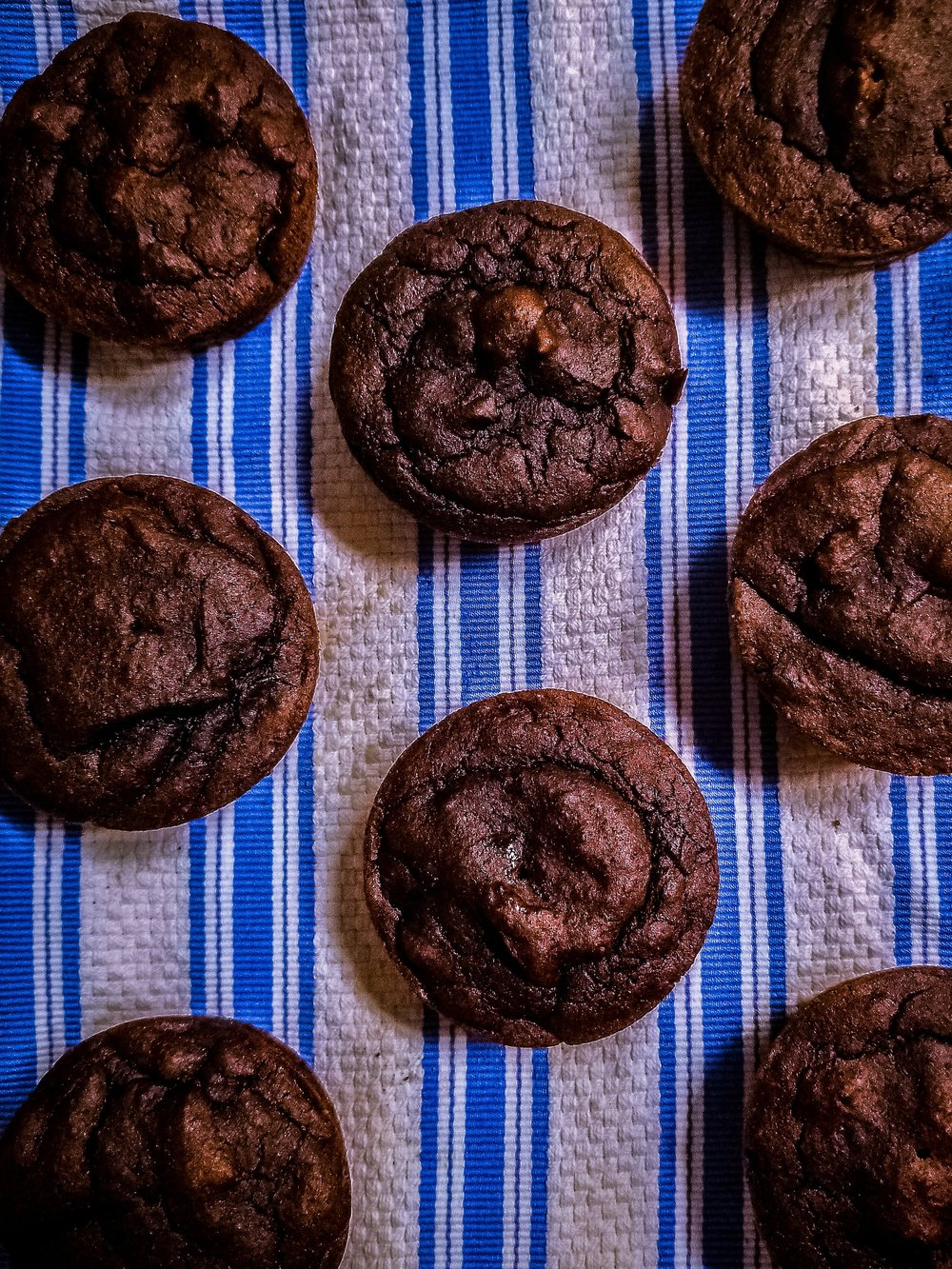 Gluten-free black bean brownies sweetened with dates