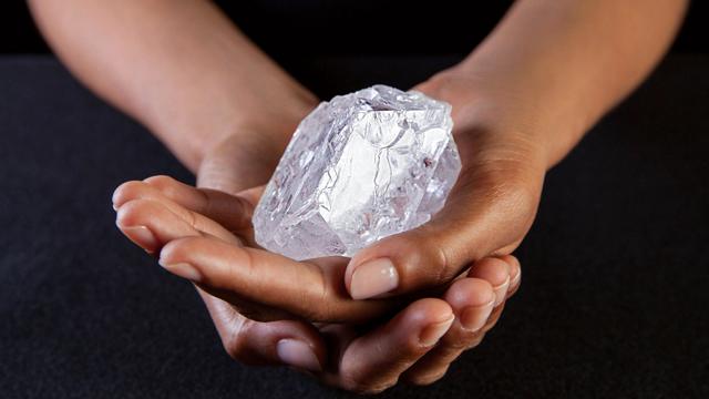 Lesedi La Rona, el diamante en bruto más grande del siglo XXI