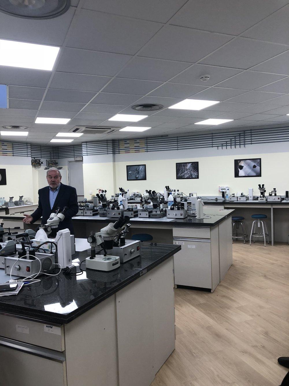 nuevo laboratorio Instituto Gemologico Español