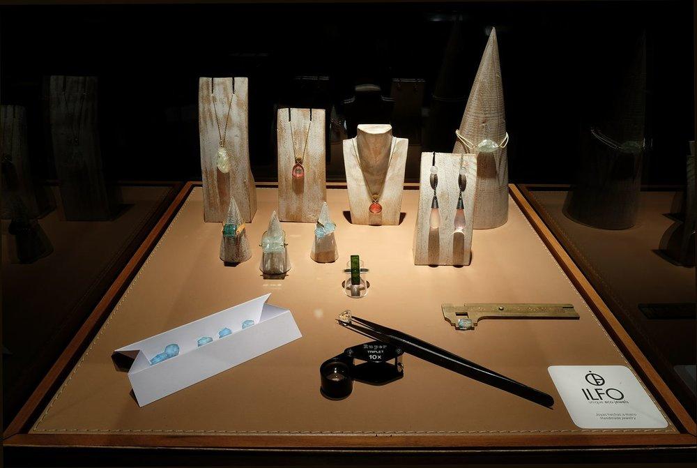 Ilfo, metal fairmined, eco jewels, piedras, gemas naturales, colección cápsula