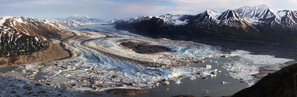 Lowell Glacier - Kluane National Park, Yukon, Canada