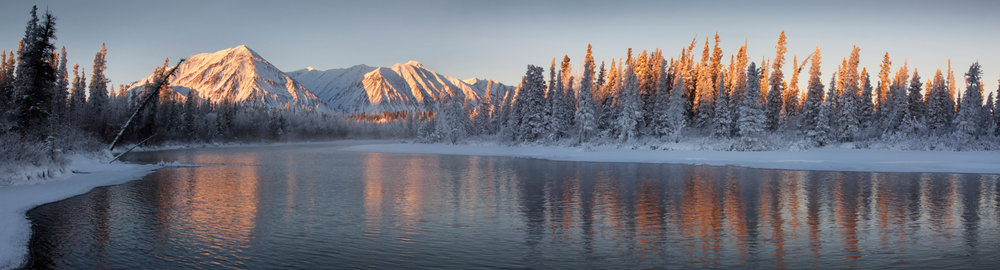 Kathleen River - St. Elias Mountains, Yukon, Canada