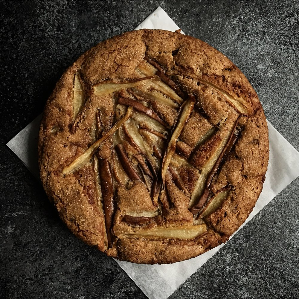 Pear & Ginger Cake  £32.00