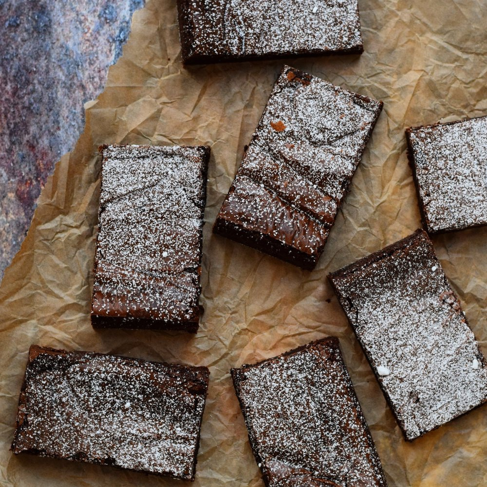 Classic Brownies  12 for £25.00 // 20 for £38.00