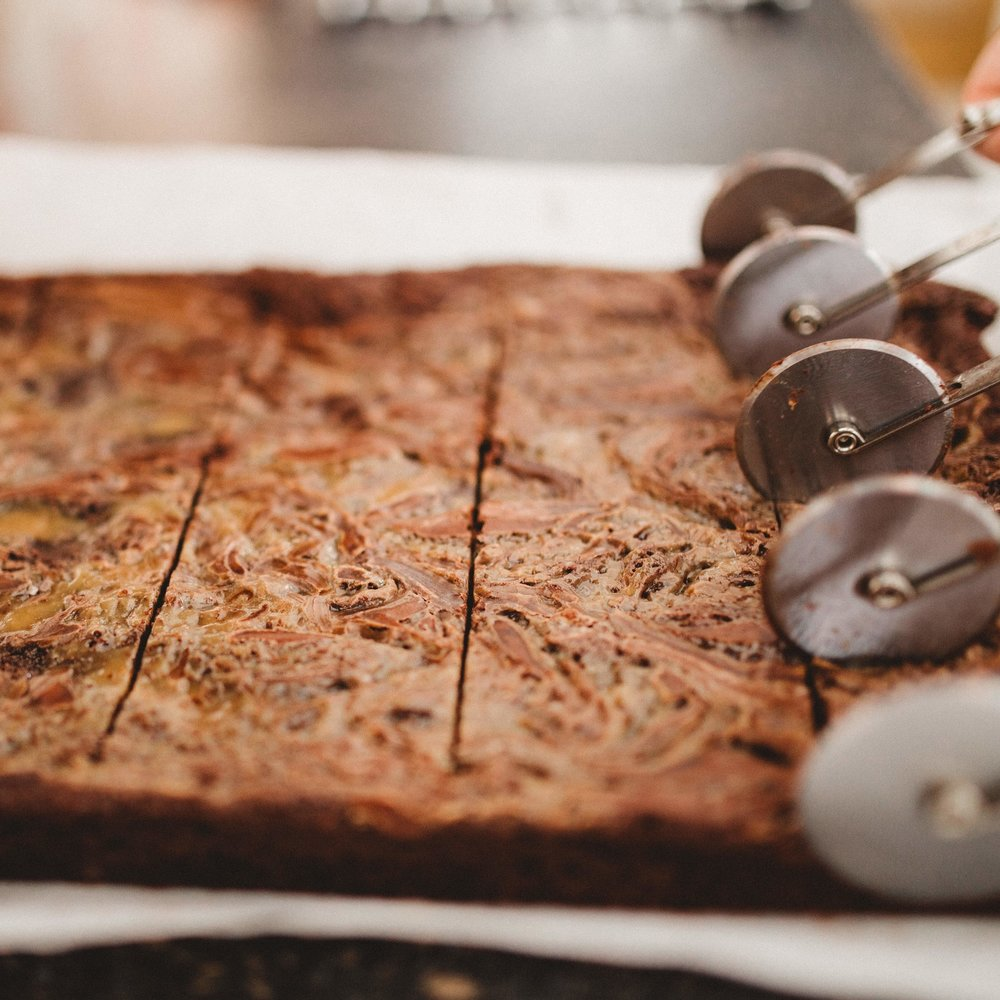 Salted Caramel Brownies  12 for £26.00 // 20 for £39.00