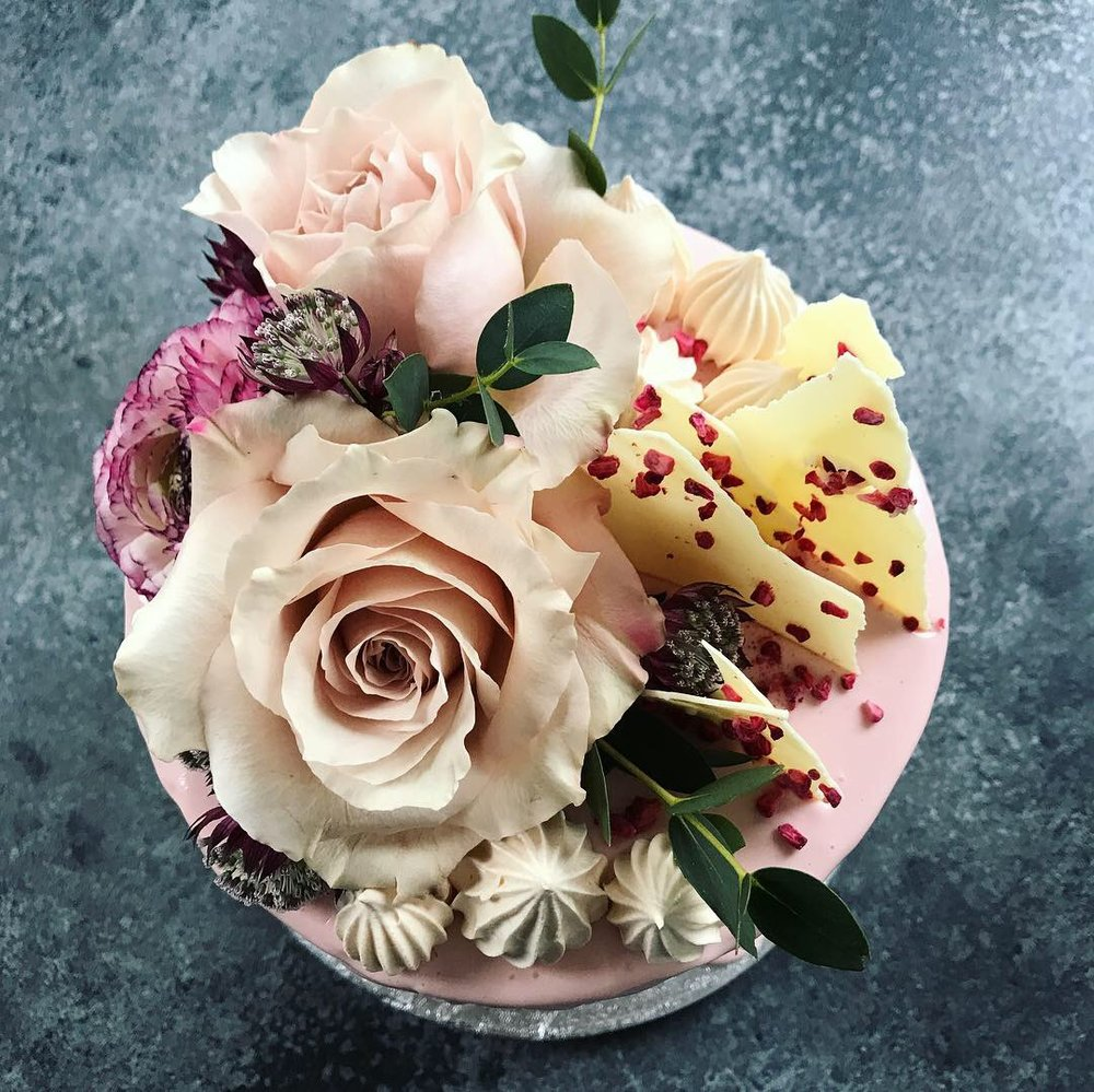 'Flowers' Cake  from £80.00