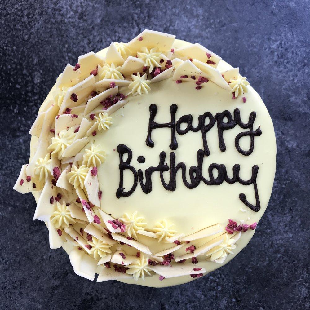 'Chocolate Shards' Cake  from £60.00