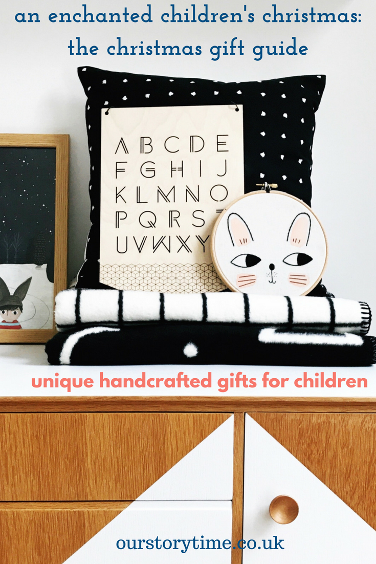 ourstorytime.co.uk | unique christmas gift ideas | handcrafted gifts | unusual gifts for home & child
