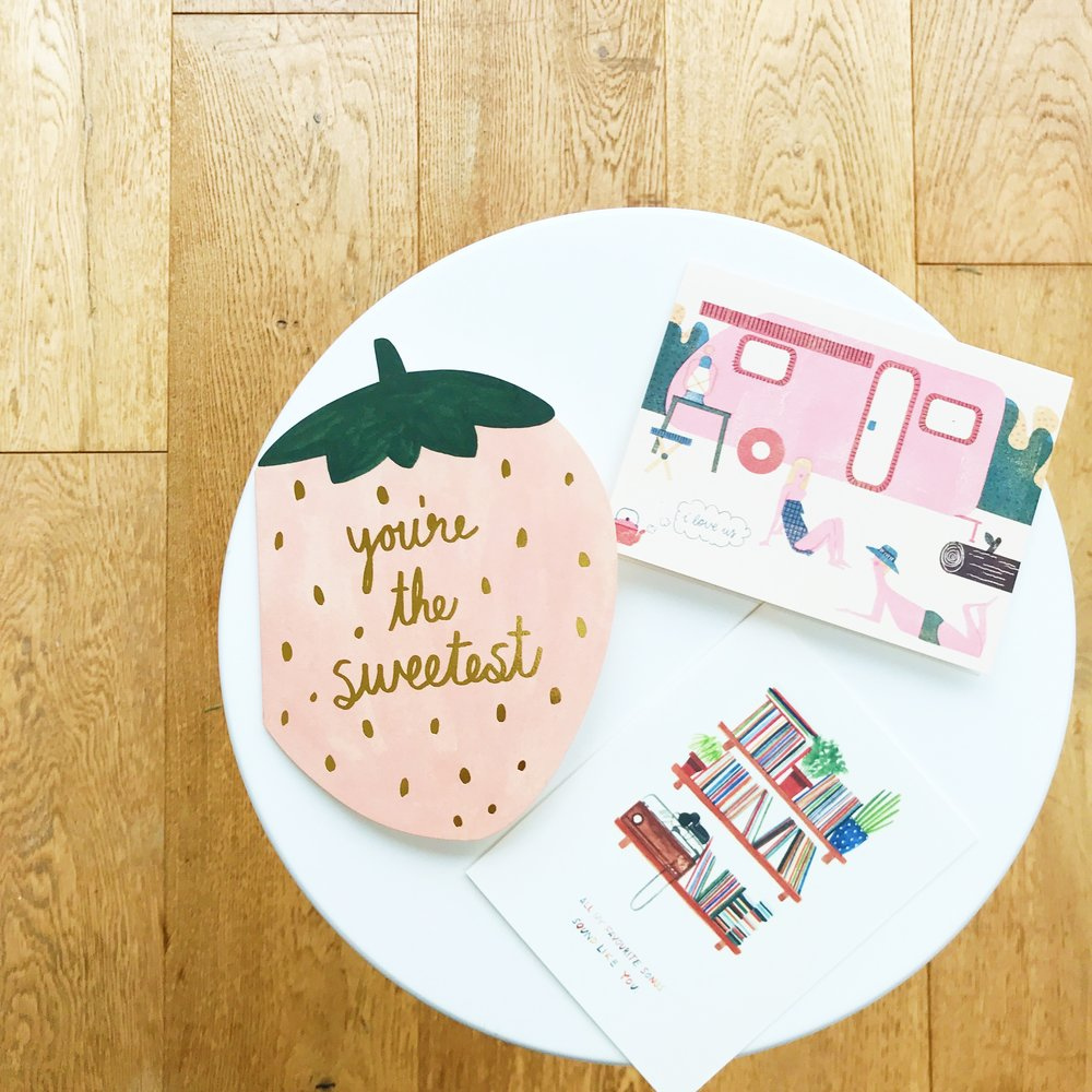 valentine's cards | original greetings cards | stationery styling | ourstorytime.co.uk